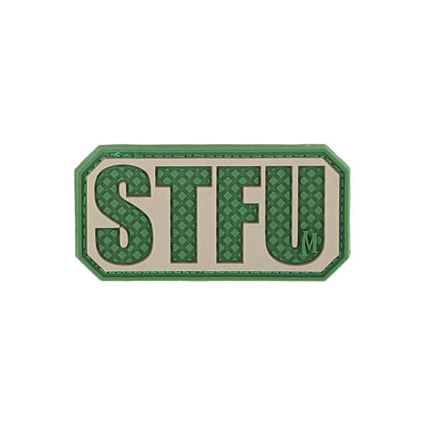 STFU PATCH - MAXPEDITION, Patches, Military, CCW, EDC, Tactical, Everyday Carry, Outdoors, Nature, Hiking, Camping, Bushcraft, Gear, Police Gear, Law Enforcement