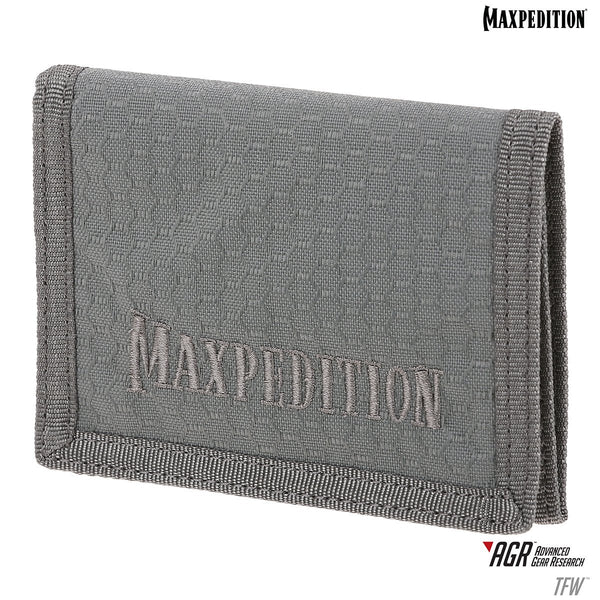 TFW TRI-FOLD WALLET - MAXPEDITION, Tactical, Adventure, Travel, CCW, E.D.C. , Everyday Carry, Range, Police, Firefighter, EMT, Law Enforcement Gear, Bushcrafting, Geochacing, Traveling, Shooting