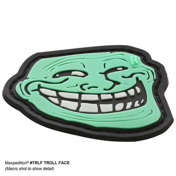 TROLL FACE PATCH - MAXPEDITION, Patches, Military, CCW, EDC, Tactical, Everyday Carry, Outdoors, Hiking, Camping, Bushcraft, Gear, Police Gear, Law Enforcement