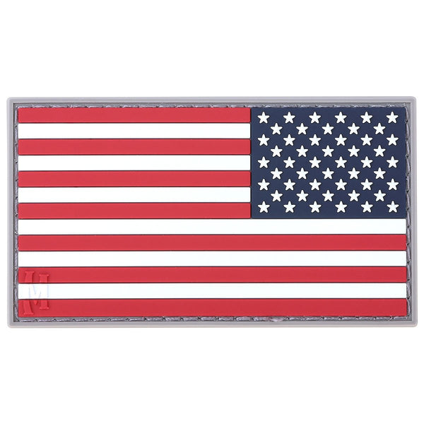 Reverse USA Flag Morale Patch (Large)