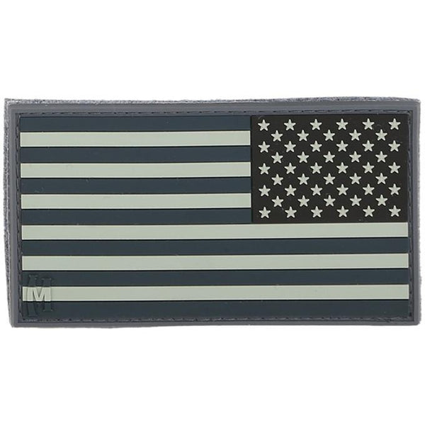 REVERSE USA FLAG PATCH (LARGE) - MAXPEDITION, Patches, Military, CCW, EDC, Tactical, Everyday Carry, Outdoors, Nature, Hiking, Camping, Bushcraft, Gear, Police Gear, Law Enforcement