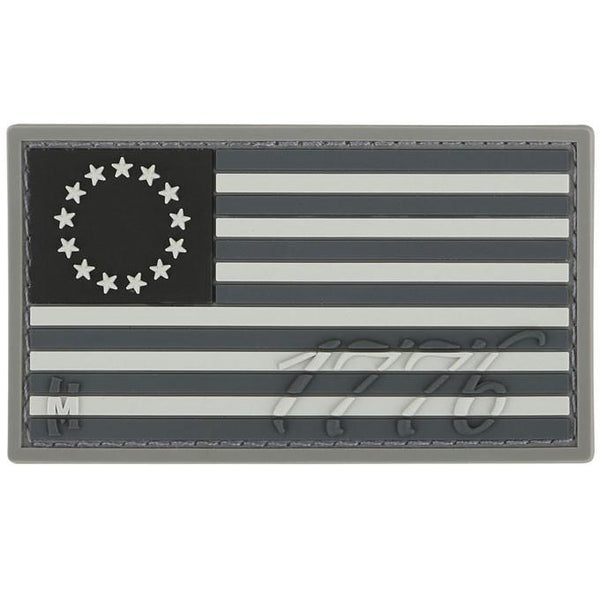 1776 USA FLAG PATCH - MAXPEDITION, Patches, Military, CCW, EDC, Tactical, Everyday Carry, Outdoors, Nature, Hiking, Camping, Bushcraft, Gear, Police Gear, Law Enforcement
