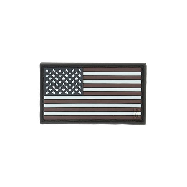 USA FLAG PATCH (SMALL) - MAXPEDITION, Patches, Military, CCW, EDC, Tactical, Everyday Carry, Outdoors, Hiking, Camping, Bushcraft, Gear, Police Gear, Law Enforcement