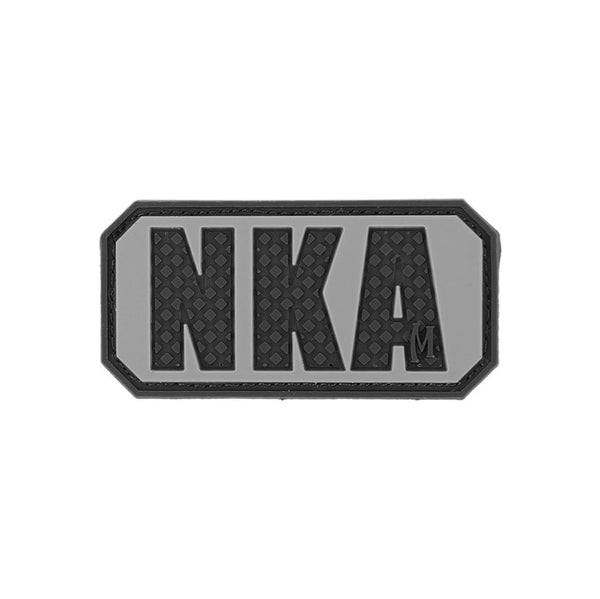 NKA NO KNOWN ALLERGIES PATCH - MAXPEDITION, Patches, Military, CCW, EDC, Tactical, Everyday Carry, Outdoors, Nature, Hiking, Camping, Bushcraft, Gear, Police Gear, Law Enforcement