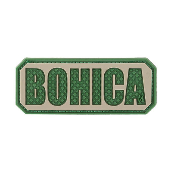 BOHICA PATCH - MAXPEDITION, Patches, Military, CCW, EDC, Tactical, Everyday Carry, Outdoors, Nature, Hiking, Camping, Bushcraft, Gear, Police Gear, Law Enforcement