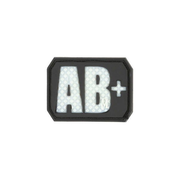 AB+ BLOOD TYPE PATCH - MAXPEDITION, Patches, Military, CCW, EDC, Tactical, Everyday Carry, Outdoors, Nature, Hiking, Camping, Bushcraft, Gear, Police Gear, Law Enforcement