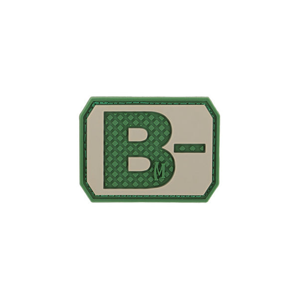 B- Blood Type Morale Patch
