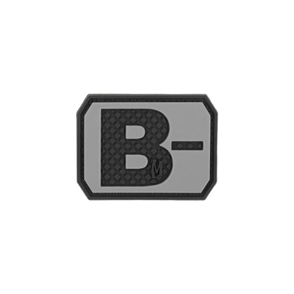 B- BLOOD TYPE PATCH