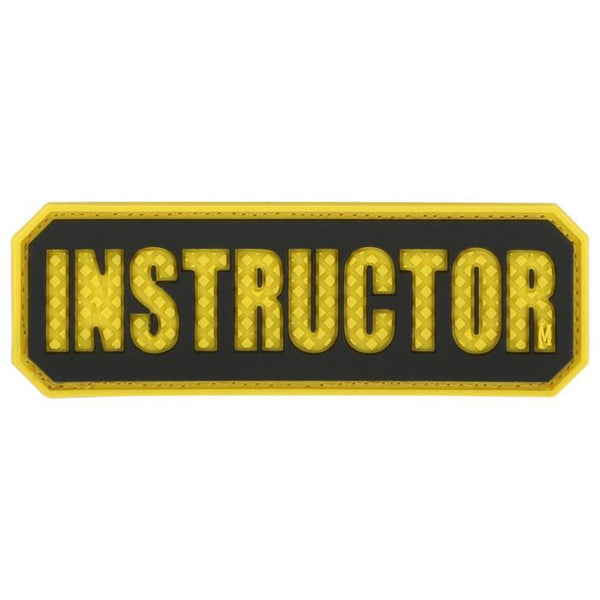 INSTRUCTOR PATCH - MAXPEDITION, Patches, Military, CCW, EDC, Tactical, Everyday Carry, Outdoors, Nature, Hiking, Camping, Bushcraft, Gear, Police Gear, Law Enforcement