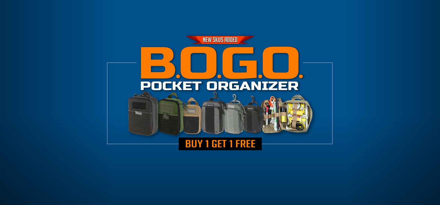 Pocket Organizers BOGO SALE