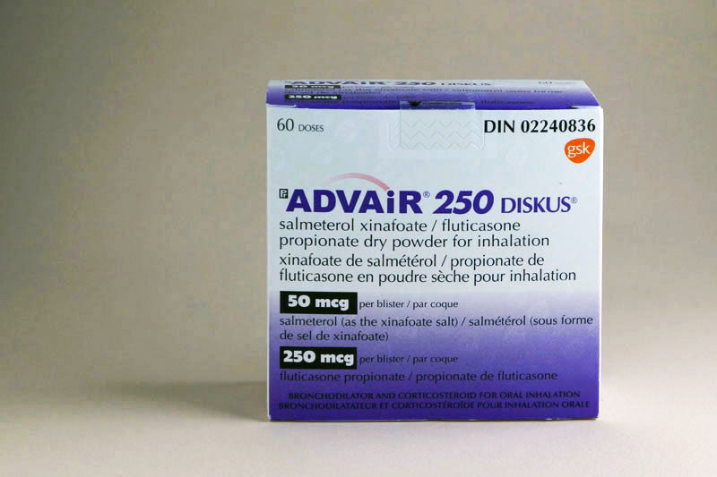 Advair Diskus Fluticasone Salmeterol 50 250 Mcg True North Meds