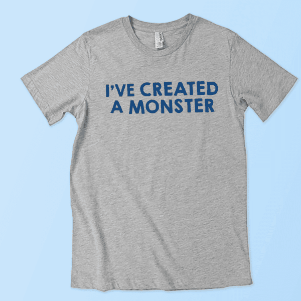 Unisexual clothing monster