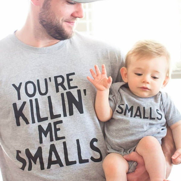 Kids Gift Set with Kids T-Shirt /& Fathers T-Shirt Baby Bunny Top Son /& Top Dad
