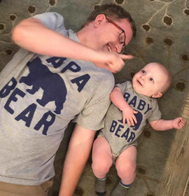 Products Matching Family Outfits T Shirts Onesies Father And Son Dad Mom Baby Outfits