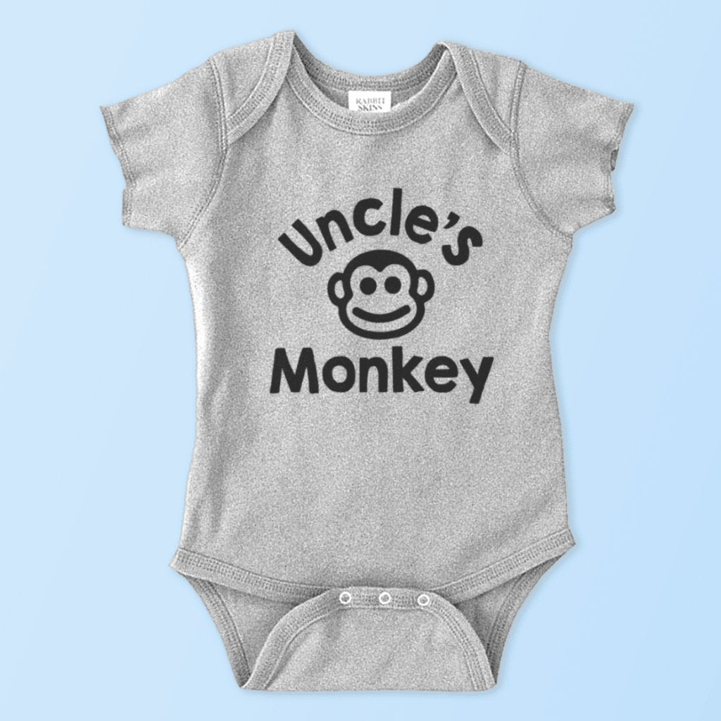 51df6d63b Uncle s Monkey (Additional Baby Onesie   Toddler Youth Tees ...
