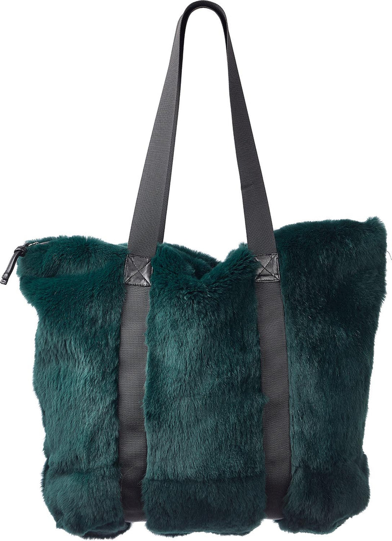 Hailey - Rex fur tote bag with handles