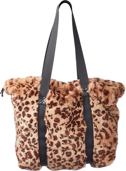 Hailey - Rex Leopard tote bag with handles.