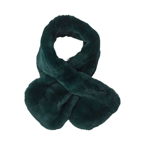 Marylin - rex scarf antique green