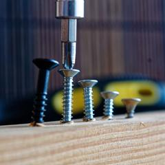 Screws, Washers, Gauge Nails & Pins