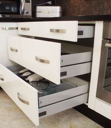 Soft-Close Drawer Slides