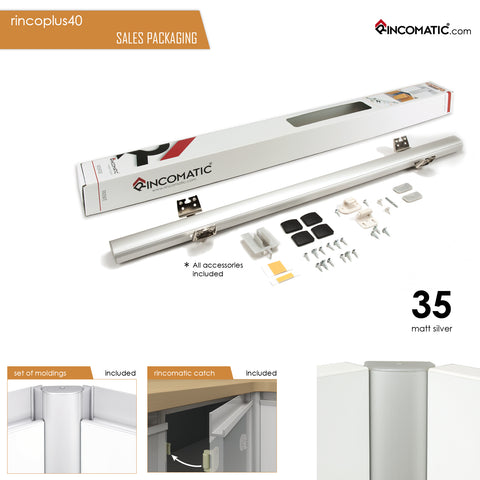 Rincomatic RincoPlus40 Decorative Corner Hinge