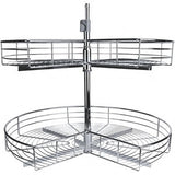 Imex Kidney Shaped 2-Shelf Lazy Susan