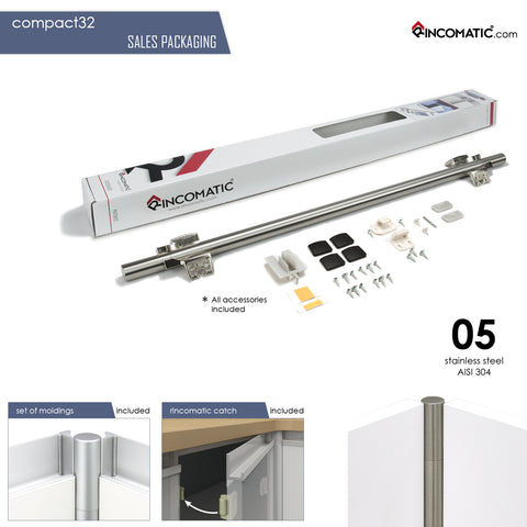 Rincomatic Compact32 Decorative Corner Hinge