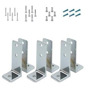Jacknob Toilet Partition - Urinal Screen Pack (2)