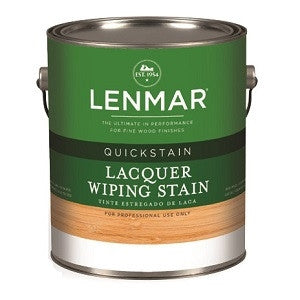 Lenmar QuickStain Lacquer Wiping Stains Series