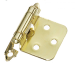 Imex Pair of Semi-Concealed Hinge Poly - 2 Pin (Various Colors)