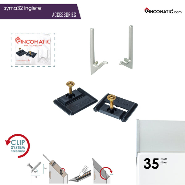 Rincomatic Syma32 Inglete Accessory Kits
