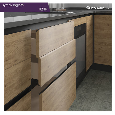 Rincomatic Syma2 Inglete Cabinet Profile Handle