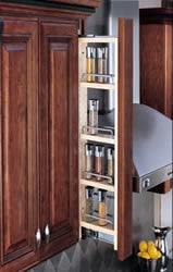 Rev-A-Shelf - 432 Series Wall Filler Pullout Organizer