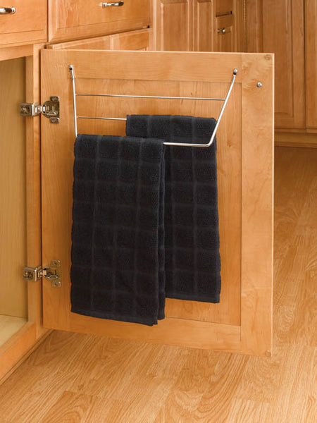 Rev-A-Shelf Door Storage 3 Prong Towel Holder Sink & Base Accessories
