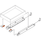 Blum Tandem 563F Series Undermount Drawer Slides Kit