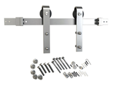 Flat Rail Barn Door Hardware Surface Mount