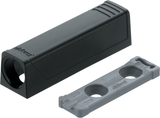 Blum TIP-ON Adapter Plate for Doors, Horizontal (20/17 mm.)