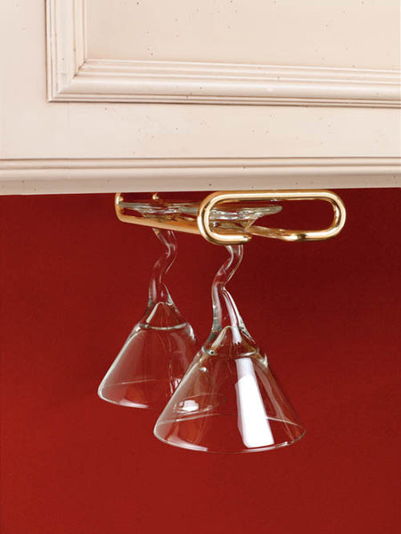 Rev-A-Shelf Stemware Under Cabinet Organizer