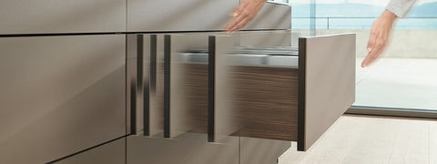 Blum Movento Blumotion TIP-ON Drawer Slides Kit
