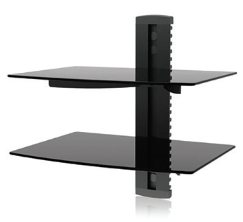 Imex Modern Two Layer DVD Shelf Bracket