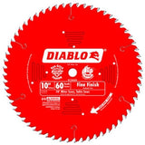 "Freud Diablo D1060X 10"" x 60 Tooth Fine Finish Saw Blade"