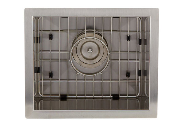 Dax Stainless Steel Handmade Kitchen Sink (DAX-SQ1512)