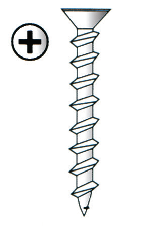 Imex Phillips Drive Drywall Zinc Screws