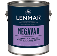 Lenmar MegaVar Plus High-Solids Water White Conversion Varnish 1M.630X series (Available for Store Pickup Only)