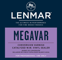 Lenmar MegaVar Water White Catalyzed Vinyl Sealer (1C.3300) (Available for Store Pickup Only)