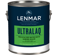 Lenmar UltraLaq Precatalyzed Water White Vinyl Sanding Sealer (1C.370)