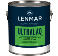 Lenmar UltraLaq Precatalyzed Quick Drying Water White Vinyl Sealer (1C.380)