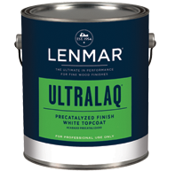 Lenmar UltraLaq White Precatalyzed Topcoat (1M.80X series)