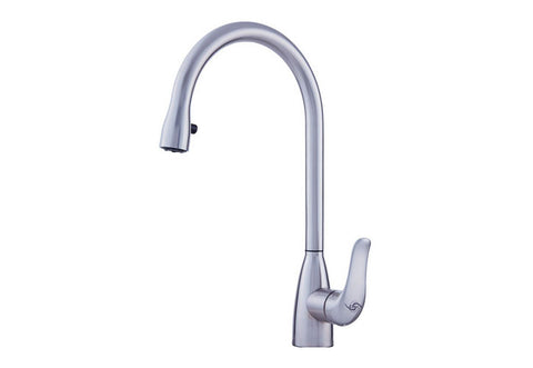 Stainless Steel Single Lever Kitchen Faucet (DAX-C17S)