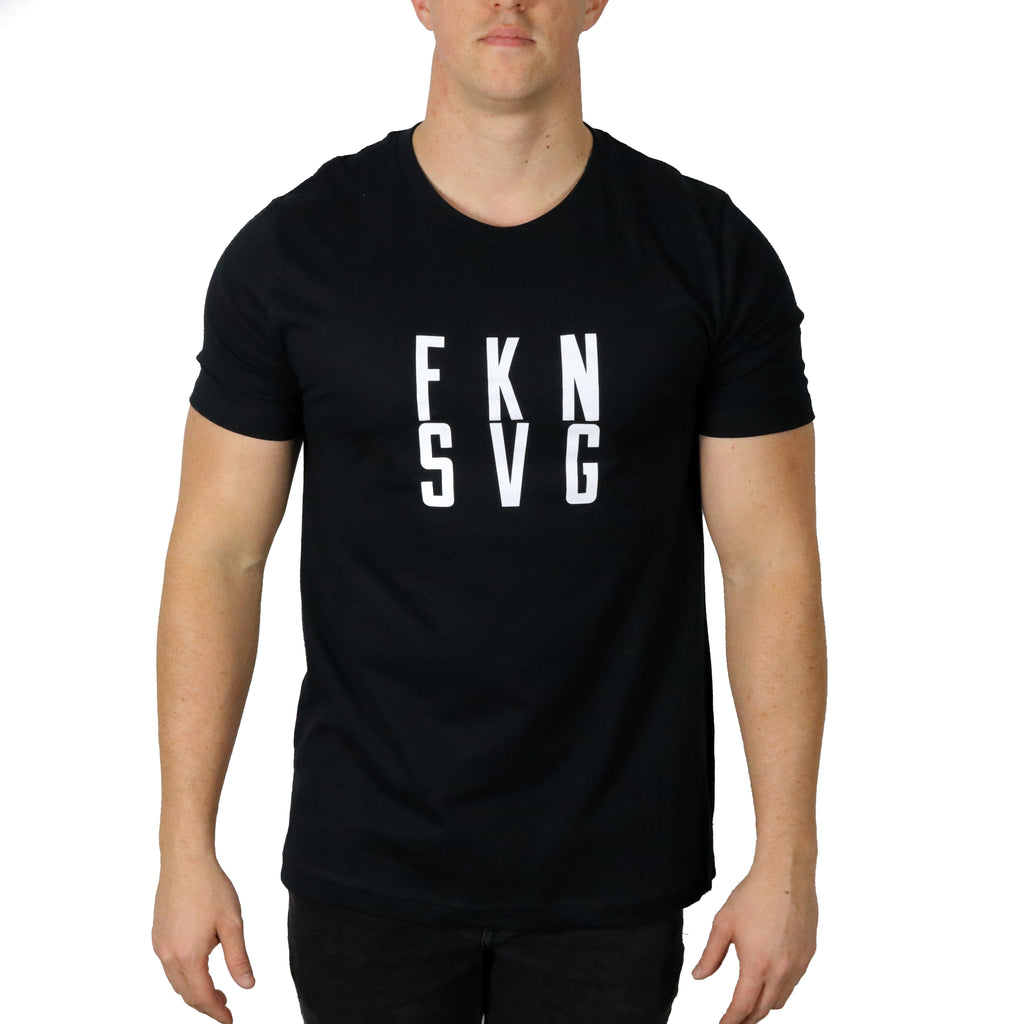 FKN SVG Tee | Black